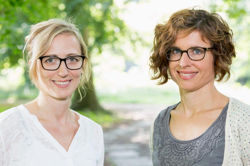 Steffi Loecker und Berit Menke. Foto: Helge Krückeberg